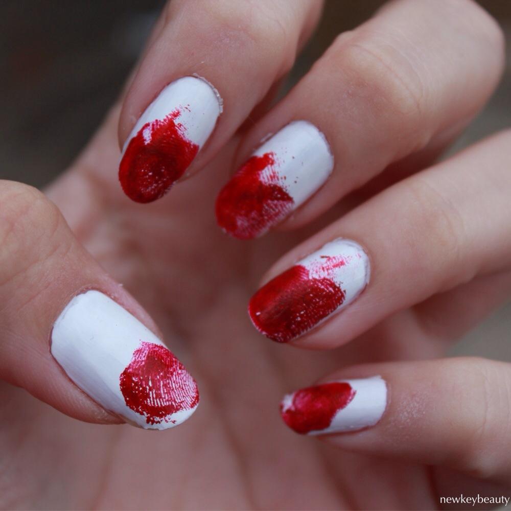 crime scene fingerprint manicure