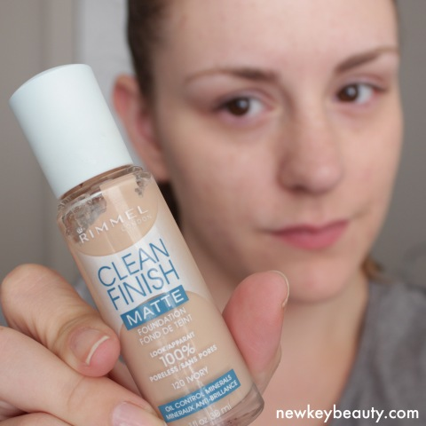 rimmel clean finish matte