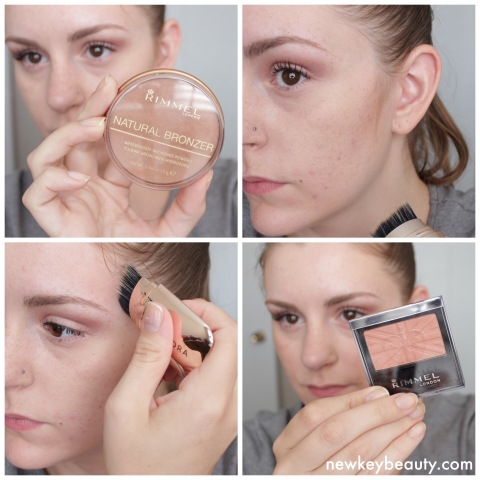rimmel natural bronzer and rimmel blush