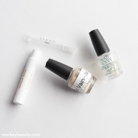 nail and fragrence empties