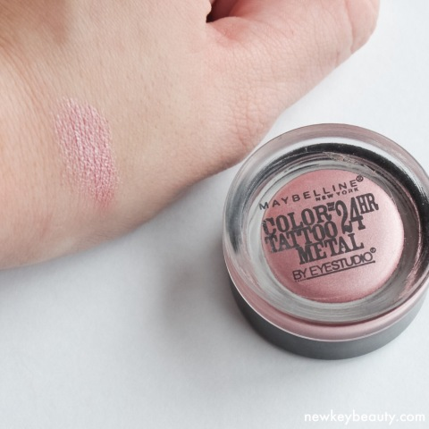 maybelline colour tattoo metal inked in pink