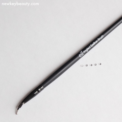 elf angled eyeliner brush